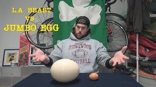 L.A. BEAST vs GIGANTIC Hard Boiled Egg