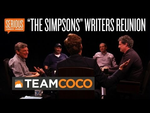 """The Simpsons"" Writers Reunion -- Serious Jibber-Jabber with Conan O'Brien - CONAN on TBS"