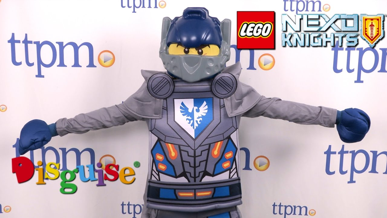 LEGO Nexo Knights Clay Prestige Child Costume from Disguise  sc 1 st  YouTube & LEGO Nexo Knights Clay Prestige Child Costume from Disguise - YouTube