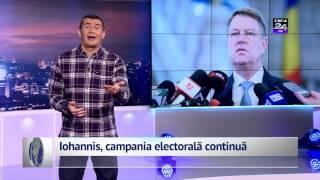Iohannis, campania electorală continuă
