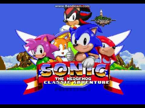 (OUTDATED) Sonic Classic Adventure: CLASSIC SHADOW!!!!!!!!!!!!!!!! (link  for game in description)