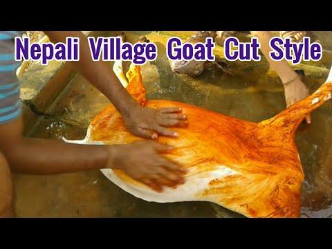 Best Nepali Goat ( Khasi ) Cut Style, mutton