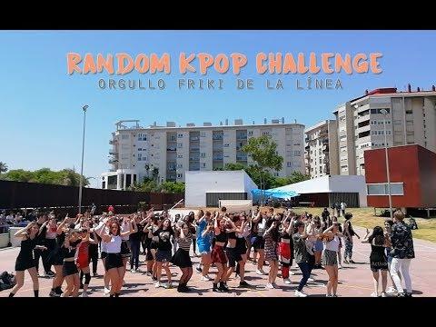 RANDOM KPOP CHALLENGE   Orgullo Friki de La Línea [BTS, MOMOLAND, NCT, BLACKPINK, ATEEZ, ITZY...]