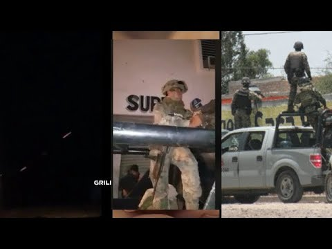 Enfrentamiento De La Armada De Mexico   Marinos Vs Civiles (?