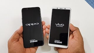 Oppo A83 vs ViVo V7 Speed Test | Which is Faster !