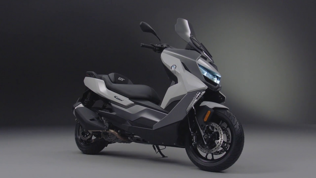 The New Bmw C 400 Gt Design Youtube