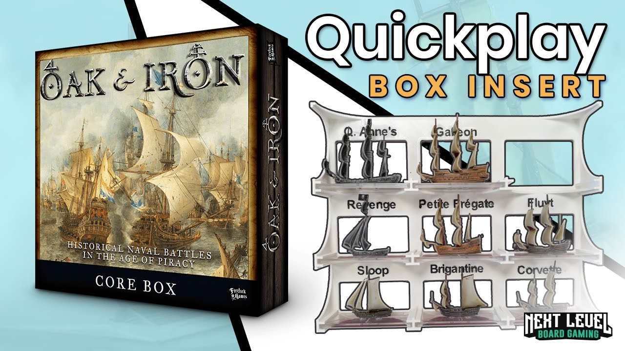 Oak & Iron - Quickplay Box Insert