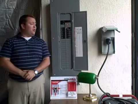 How a Generator Interlock Kit Works YouTube – Interlock Kit Wiring Diagram