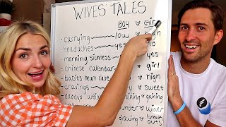 Testing Old Wives Tales PREDICTIONS! BABY BOY OR GIRL?