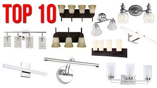 Top 10 Best Bathroom Vanity Lights 2019