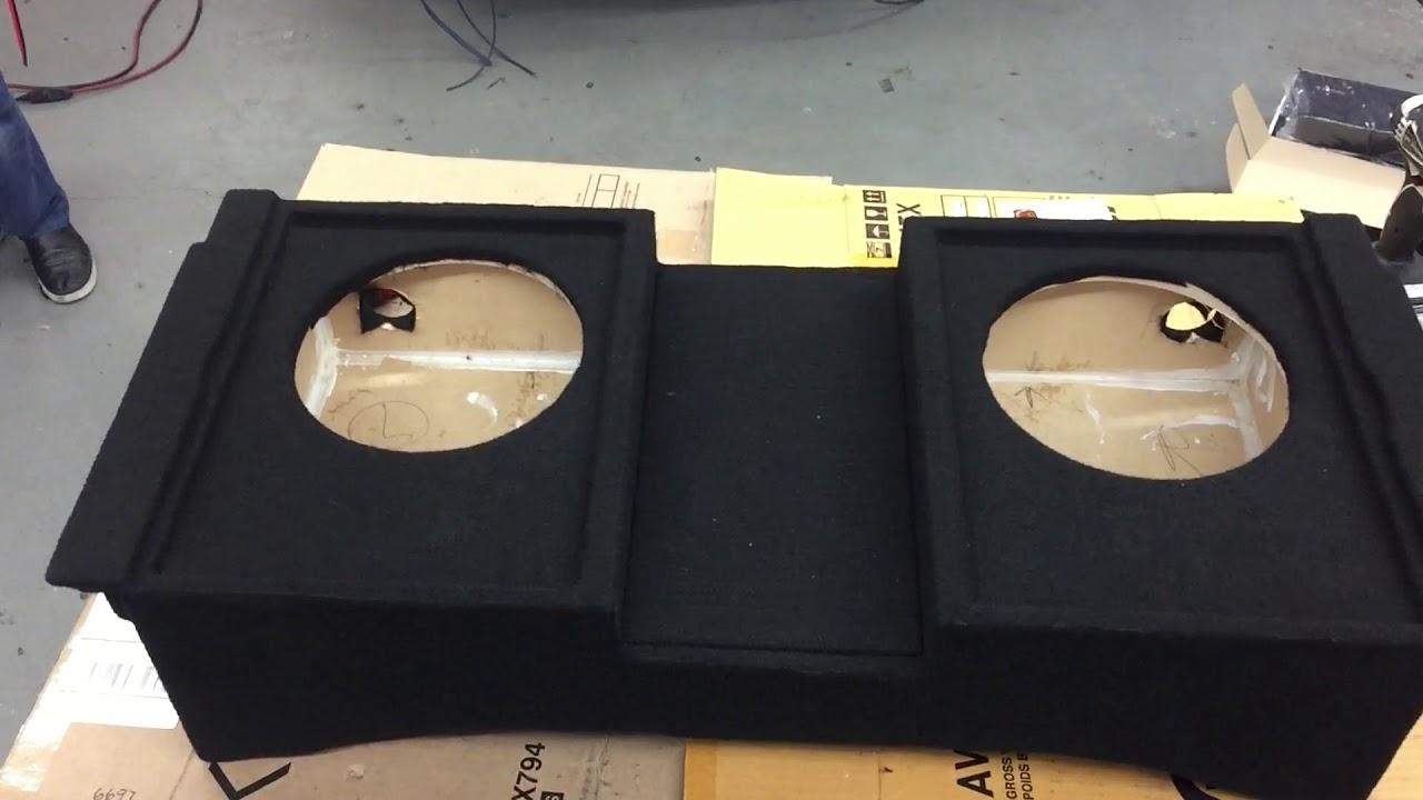 Dodge Durango Custom Subwoofer Box