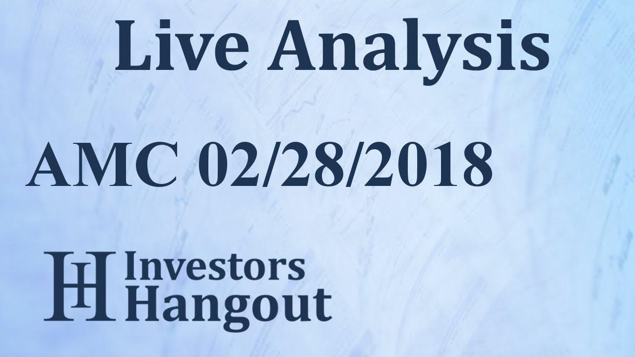 Amc Stock Amc Entertainment Holdings Inc Live Analysis 02 28 2018