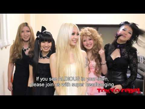 Aldious introduces themselves to the west!