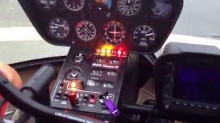 как взлететь на вертолете Robinson 44. Часть1(через YouTube Объектив., 2014-08-07T11:05:28.000Z)