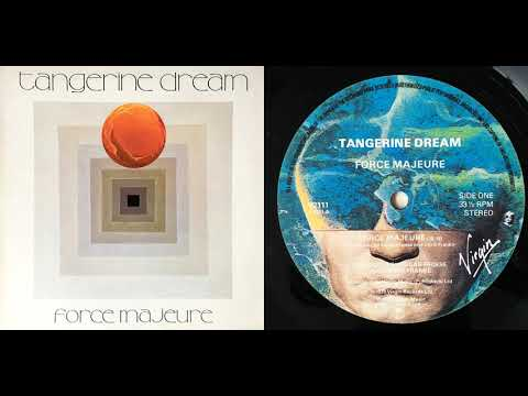 Tangerine Dream - Force Majeure (vinyl, LP, 1979, DR12)
