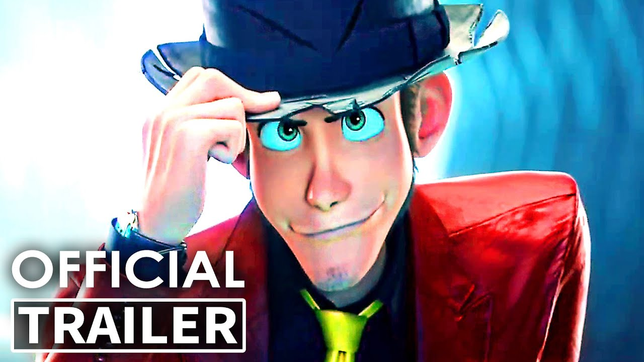 LUPIN 3 The First Trailer (Animation, 2020)