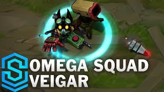 Omega Squad Veigar Skin Spotlight - League of Legends