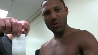 (WOW!) KELL BROOK WEIGHS 148.2 DAYS BEFORE WEIGH-IN; STUNTS ON CRITICS WHO DOUBT HE CAN MAKE 147