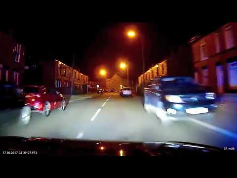 Police Chase Through Bury Greater Manchester