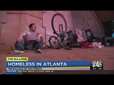 Homeless On The Streets Of Atlanta