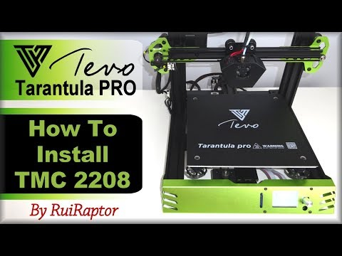 TEVO TARANTULA PRO - How To Install TMC2208 Drivers