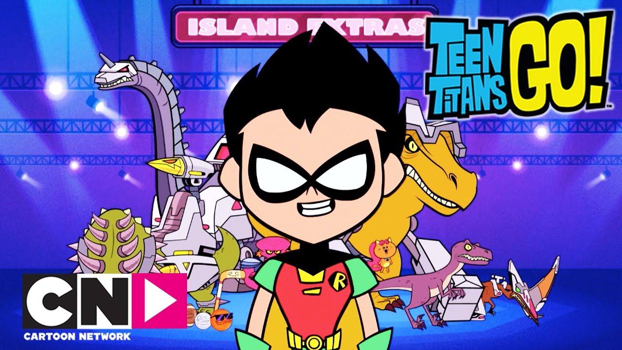 Młodzi Tytani: Akcja! | Program największych złoczyńców | Cartoon Network