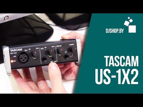 Tascam US-1x2 Новый доступный интерфейс