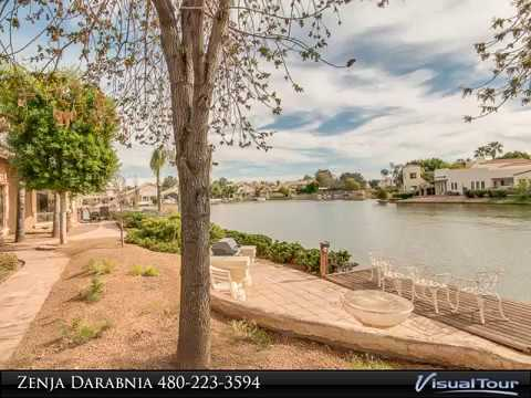 Waterfront Home for Sale in Gilbert Arizona | Val Vista Lakes Gilbert