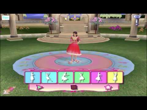 ИГРА «12 Танцующих принцес» (ПОЛНАЯ ВЕРСИЯ - ЧАСТЬ 1) Барби на русском языке Прохождение 2015 года
