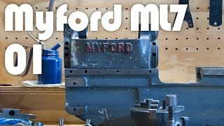 Myford Lathe Restoration - Part 1 Inspection & Teardown