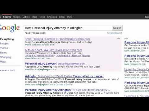 Personal Injury Attorney Arlington Texas | (817) 861-8400 