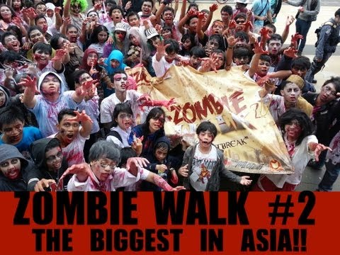 INDONESIAN ZOMBIE WALK #2 2013: THE BIGGEST IN ASIA!!