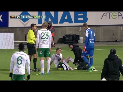 Saevarsson linkar av planen - Magyar byts in tidigt - TV4 Sport