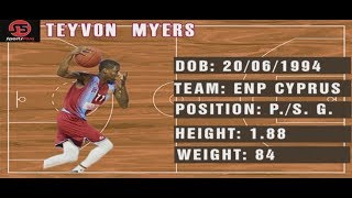 TEYVON MYERS HIGHLIGHTS (2017-2018)