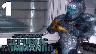 Star Wars Republic Commando en Español - Ep. 1 - CLONES MEJORES QUE OTROS CLONES