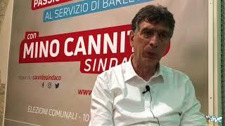 Barletta, amministrative 2018: intervista al candidato Cosimo Cannito