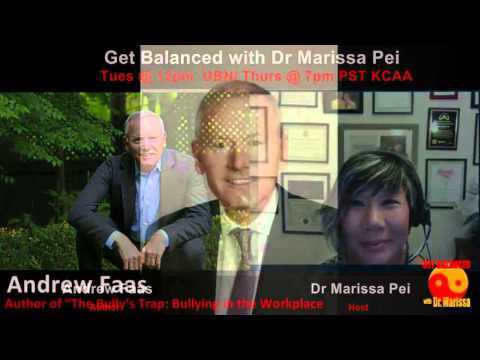 Andrew Faas talks about Bullies in the Workplace with Dr. Marissa