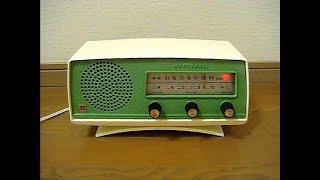 ナショナルの真空管ラジオ AX 440です、昭和36年に発売されました。 使...