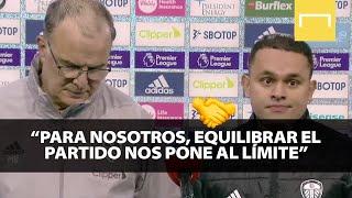 Bielsa analiza el empate (1-1) con el Manchester City de Guardiola