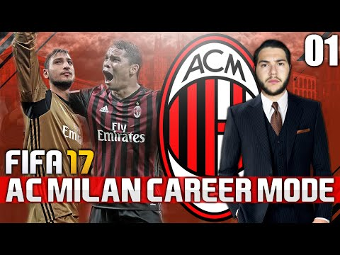 FIFA 17 | AC MILAN CAREER MODE | #01 | THE START!