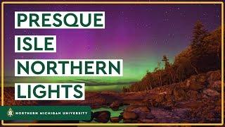 Presque Isle Northern Lights