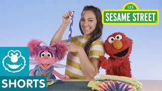 Sesame Street: DIY Dog Toy with Nina, Elmo, and Abby