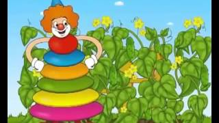 Веселая Радуга! Развивающий мультик для самых маленьких! Учим Цвета!
