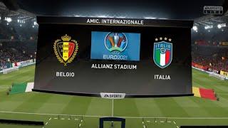 BELGIO - ITALIA ai Quarti di Finale - EUROPEI 2021 su FIFA 19 [PS4]