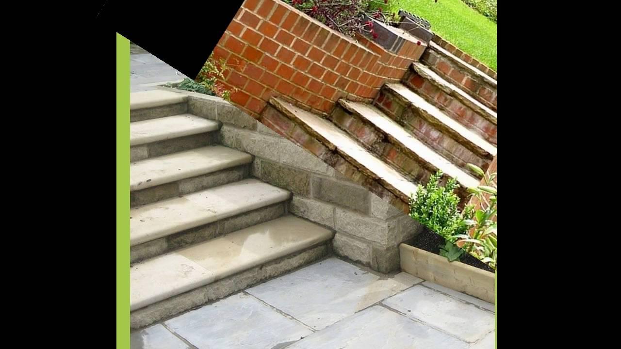 Garden Steps Ideas YouTube