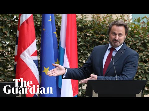 Luxembourg PM's treatment of Johnson 'may harm Brexit talks'