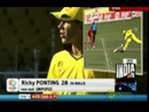 Ponting breaks TV  after been dismissed by Zimbabwe