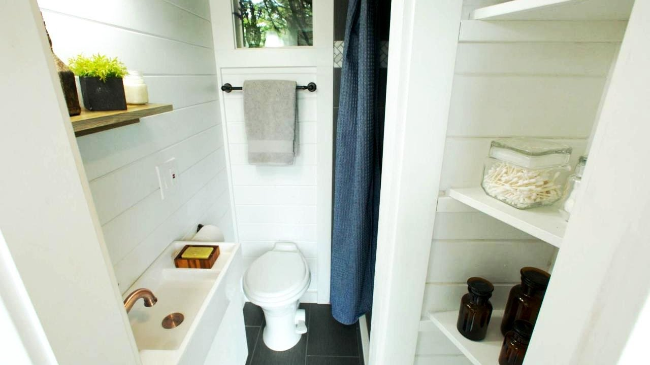 20 Best Tiny House Bathroom Ideas - YouTube