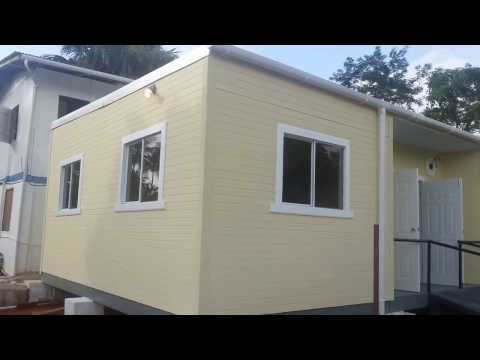 Affordable Steel Cube  Home