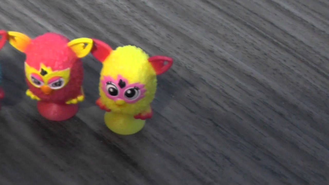 Furby Stickies Mini Furbies de goma en espaol  YouTube